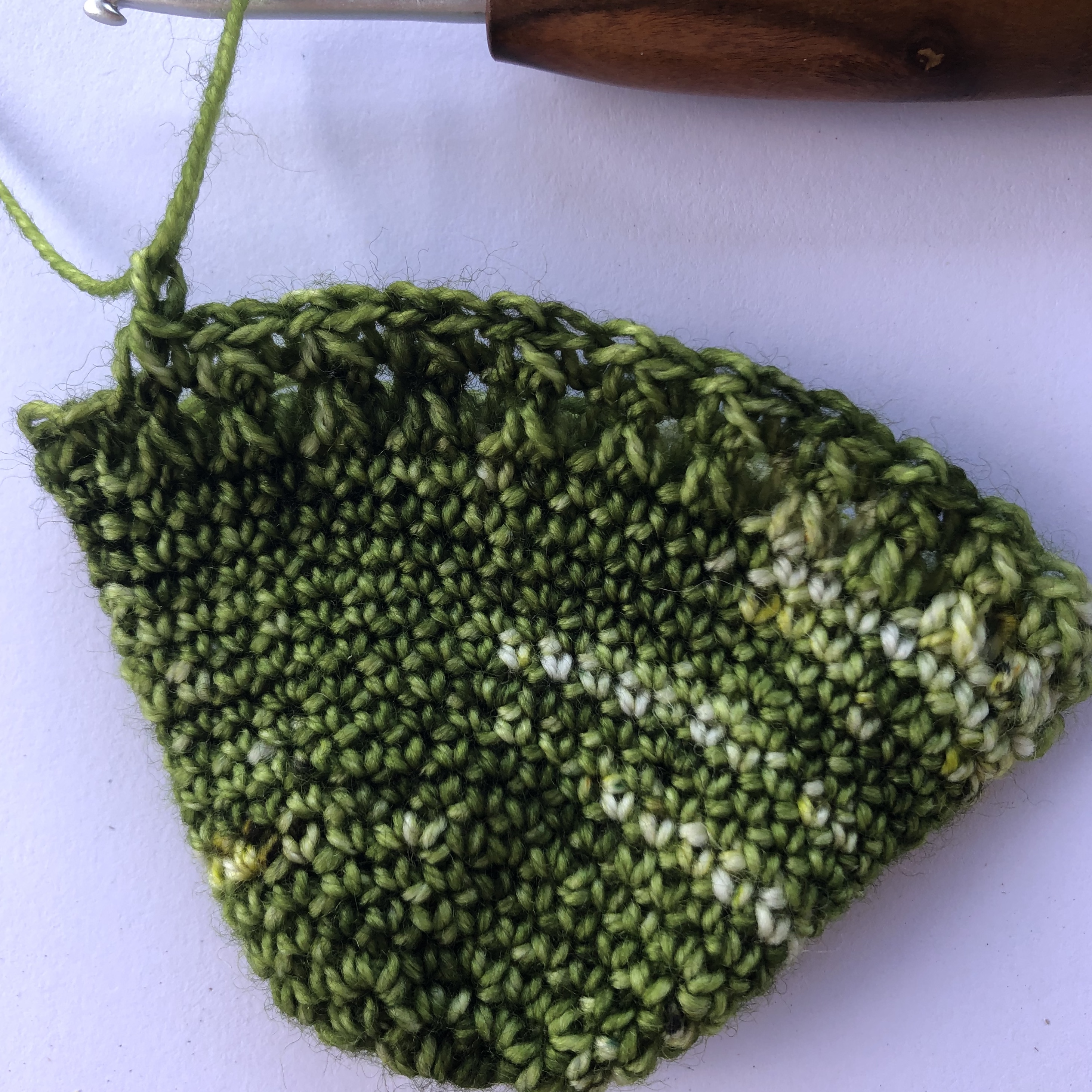 crochet toe