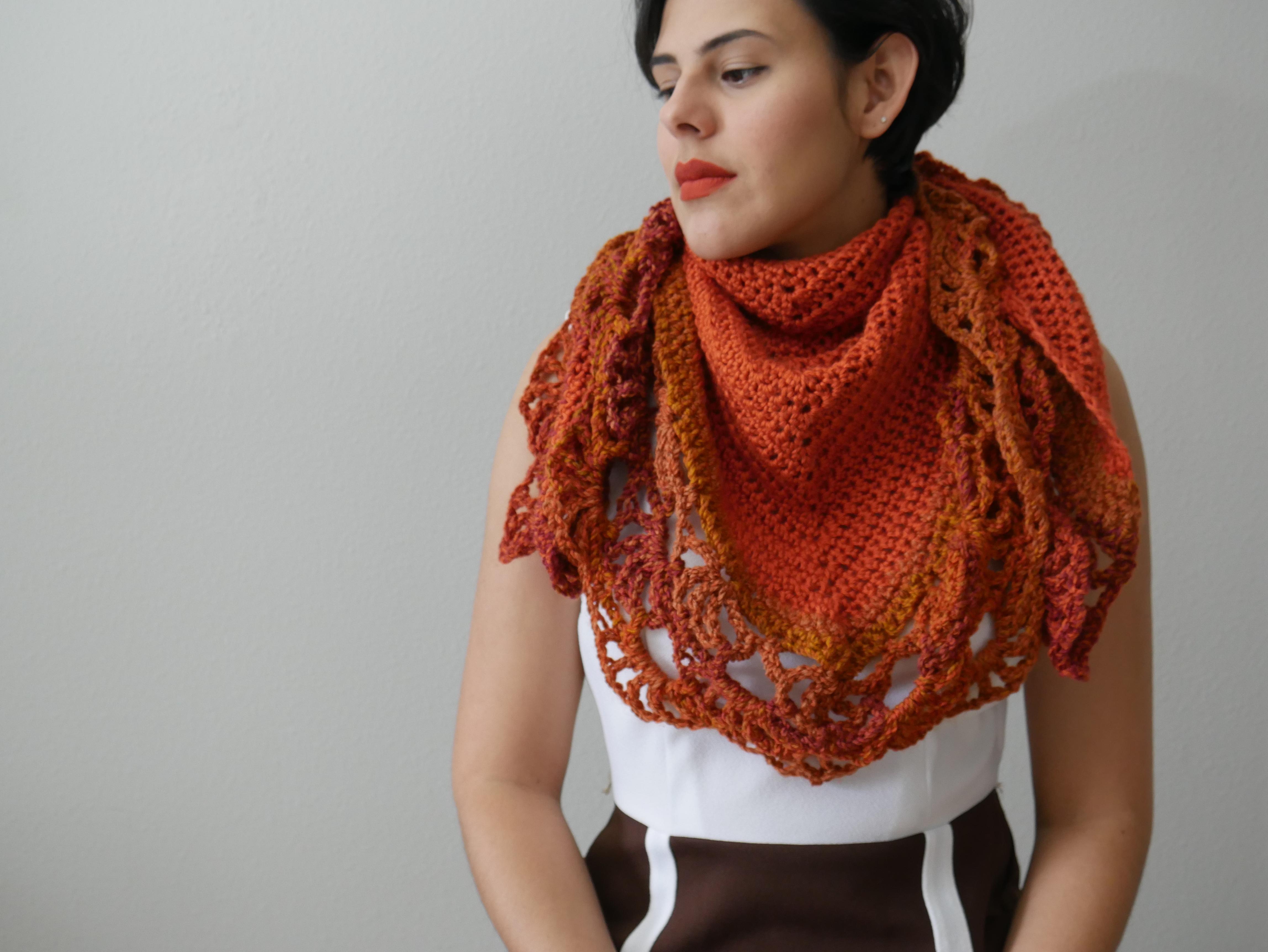 hagrids pumpkin patch shawl