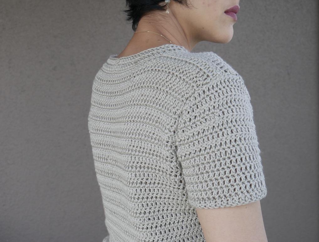 part II flower child crochet top