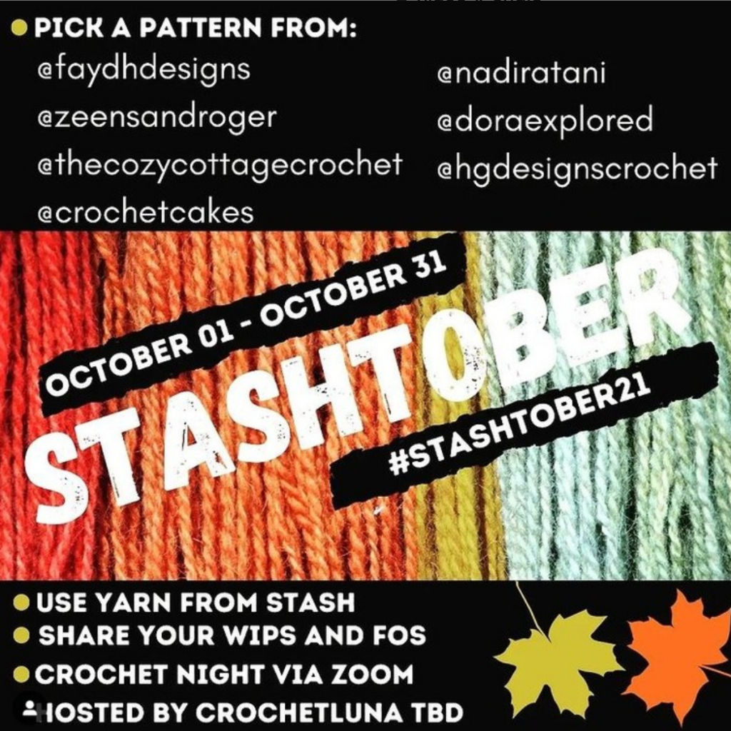 stash busting CAL Stashtober promo featuring all the participating designers.